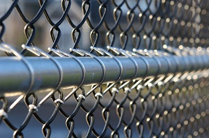Commercial fencing helps improve security around major buildings