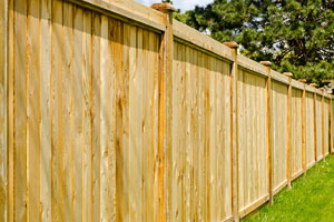 Privacy fence installation in Leesburg
