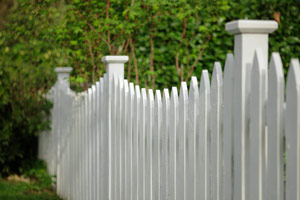 Picket fence design in Gainesville